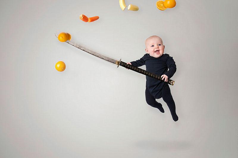 baby photoshops
