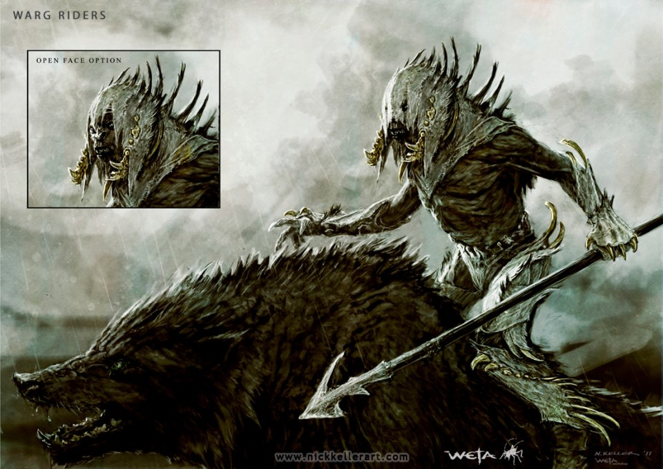 Concept Art for The Hobbit