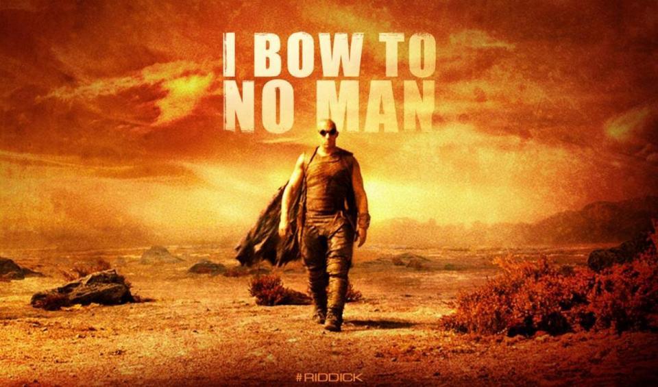 Vin Diesel Riddick's New Banner