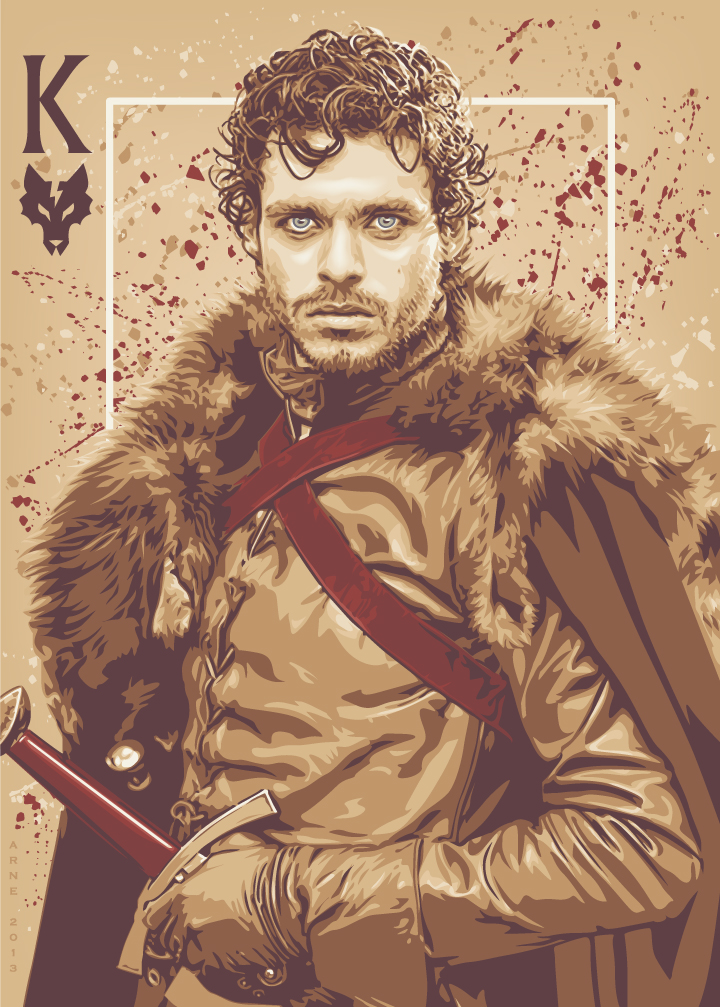 Game Of Thrones Cards Character Posters- FizX