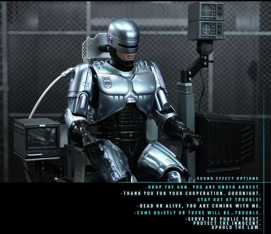Hot Toys: Robocop Collectible Figure