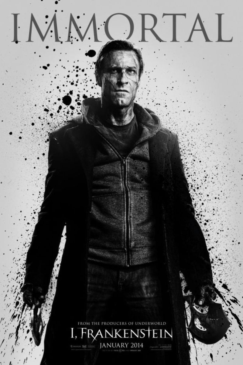 Character Posters for I, Frankenstein