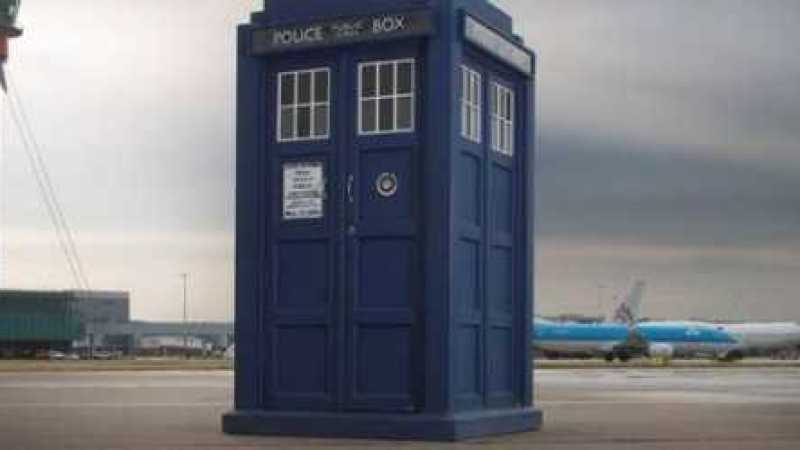 Doctor Who Takes Over Heathrow Airport