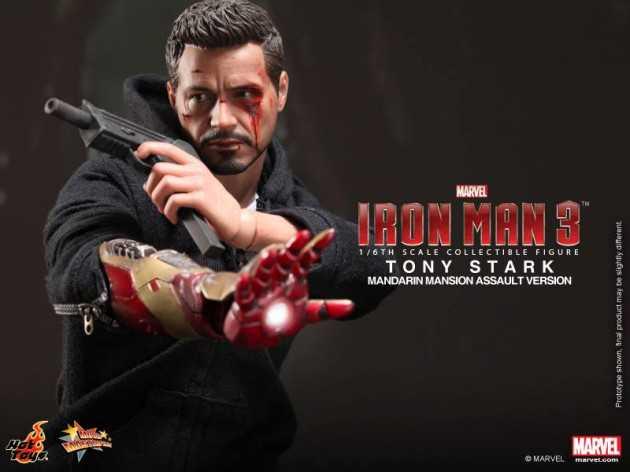 Iron Man Figure With No Armor