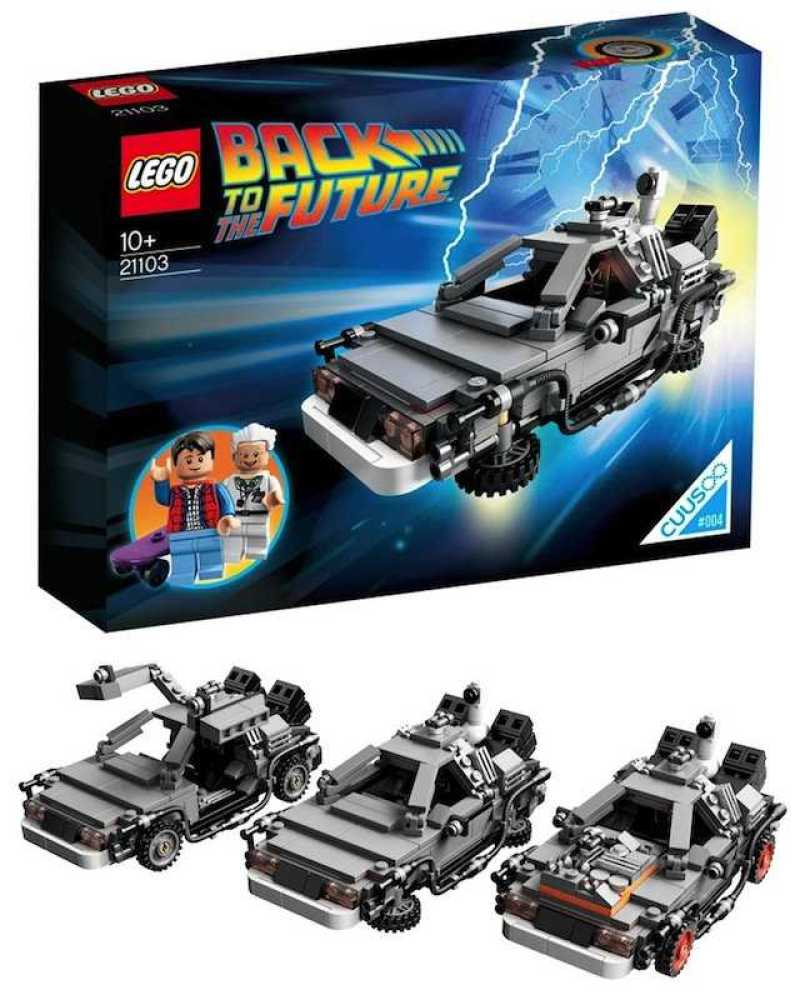 LEGO Unveils Official Back To The Future DeLorean Set