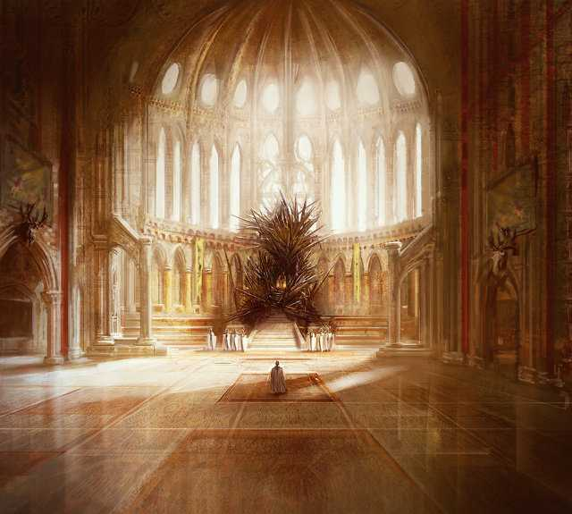 Iron Throne As Imagined By RR Martin