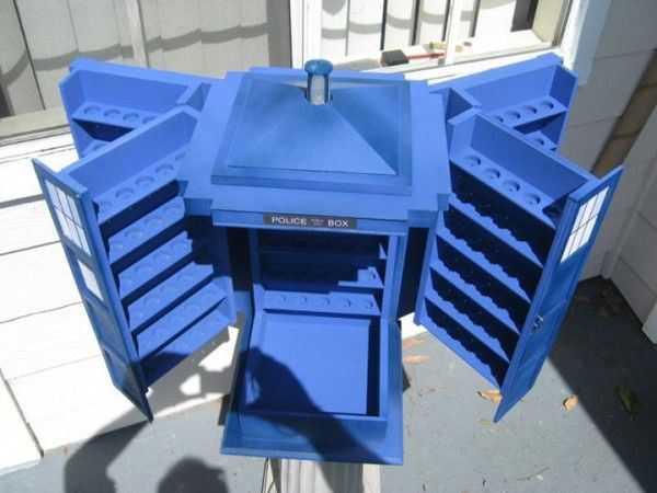 Custom TARDIS Box