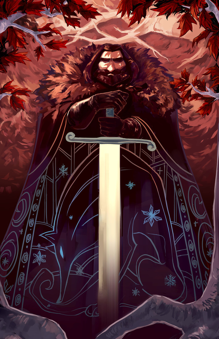 Doodle-Mon-Game-of-Thrones-Ned-Stark