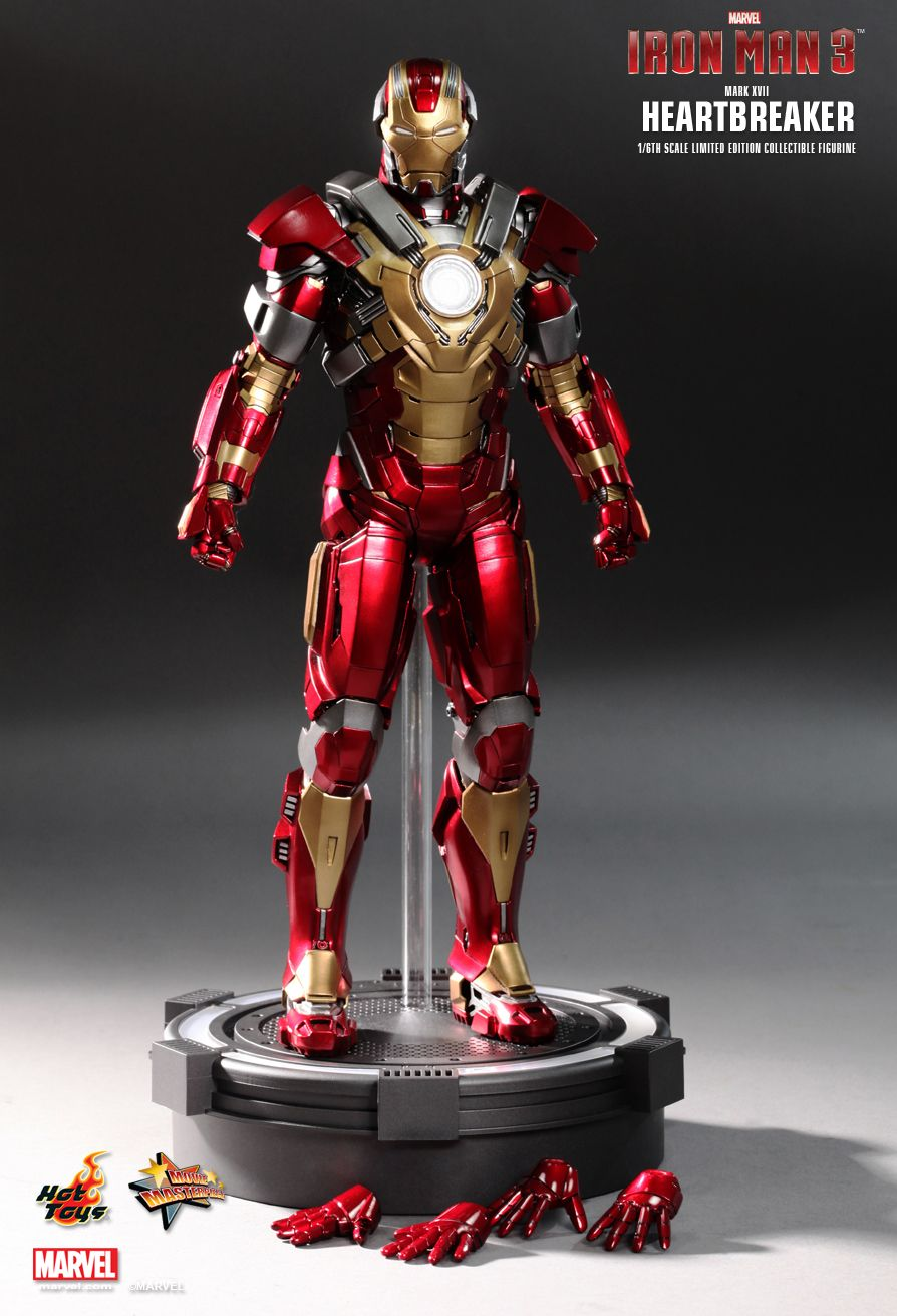 IRON MAN 3 HEARTBREAKER Figure