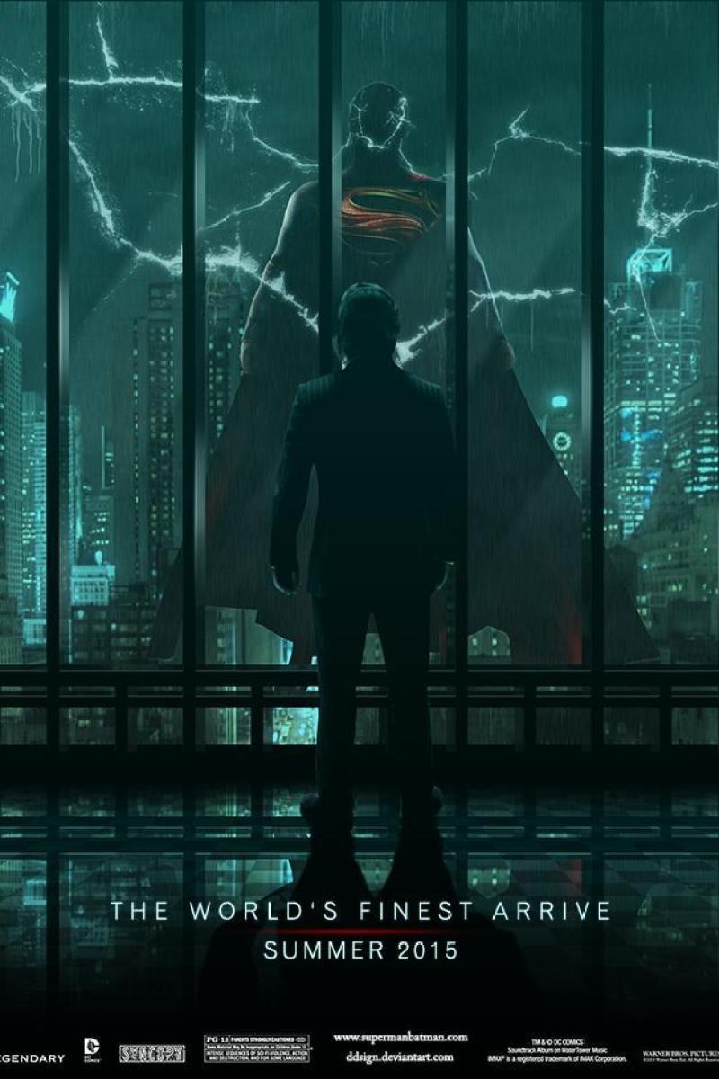 BATMAN VS. SUPERMAN Fan Made Poster Art