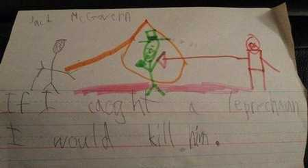 Disturbing Drawings by Kids