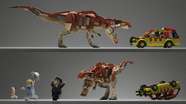 Jurassic Park Lego Set