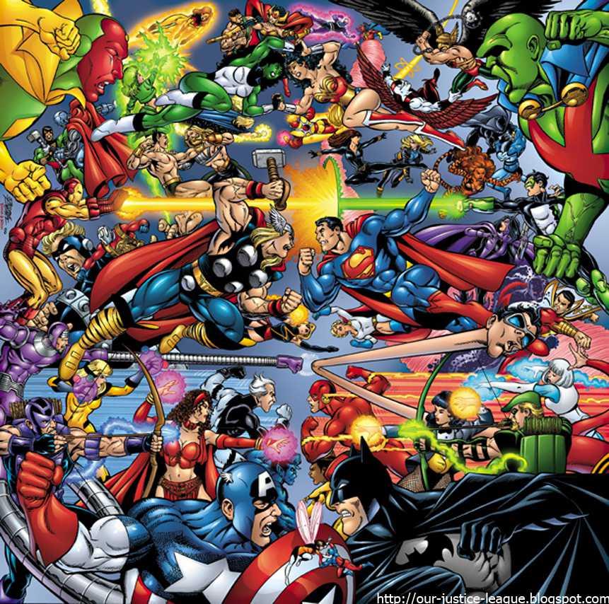 Avengers Vs. Justice League Trailer