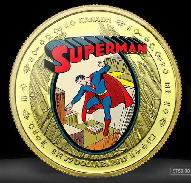 75th Anniversary Superman Coins