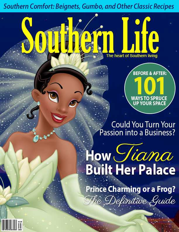 Disney Characters Grace Covers Of Magazines