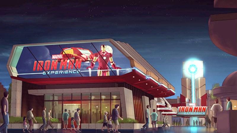 Iron Man Coming to Hong Kong Disneyland in 2016