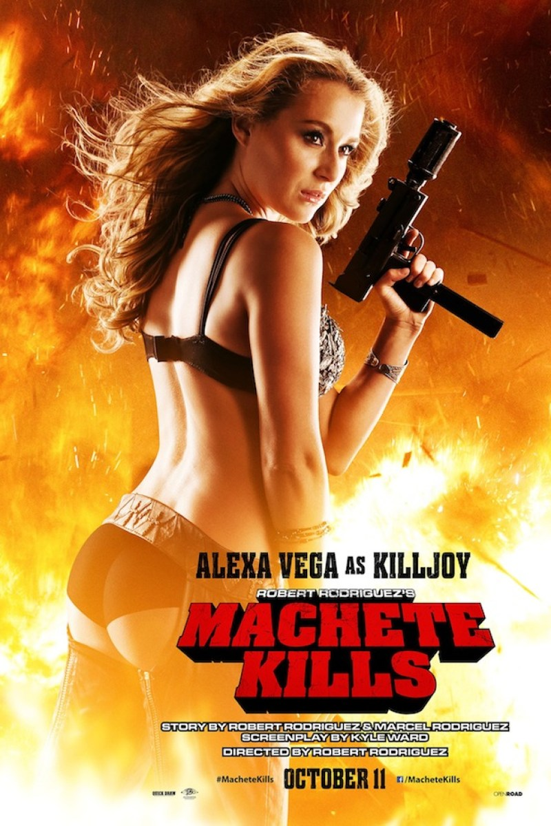 Red Band Clip from Machete Kills