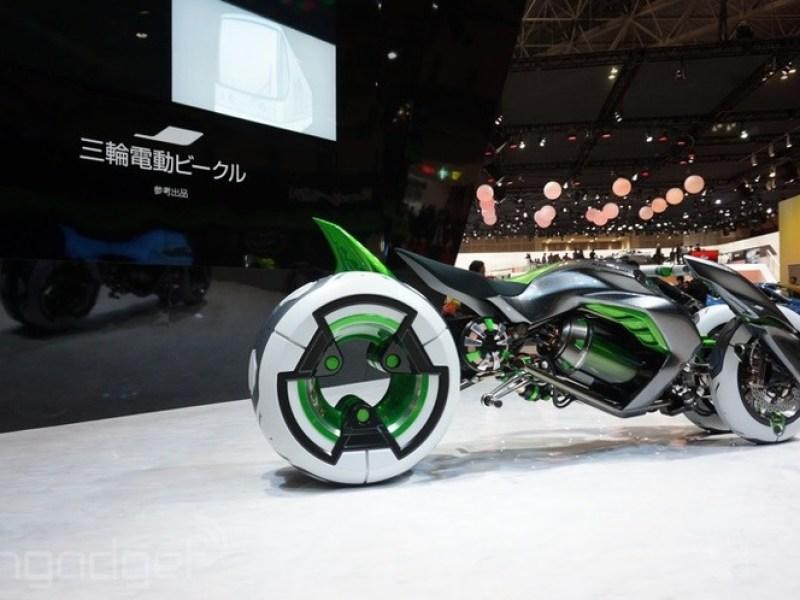 Kawasaki's Cyberpunk Motorcycle