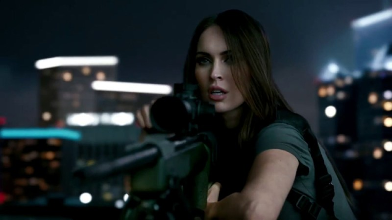 Call of Duty: Ghosts Trailer Featuring Megan Fox!!!!
