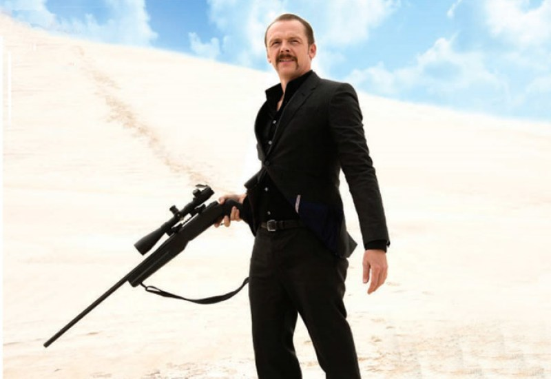 Simon Pegg in KILL ME THREE TIMES