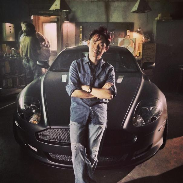 Fast & Furious 7 Set Photo's