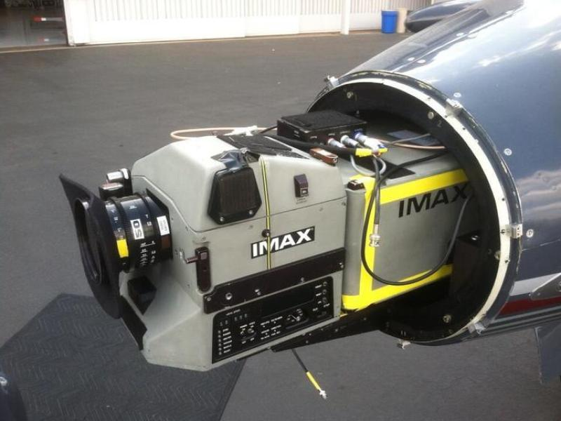 Christopher Nolan Fitted a Learjet with IMAX Camera