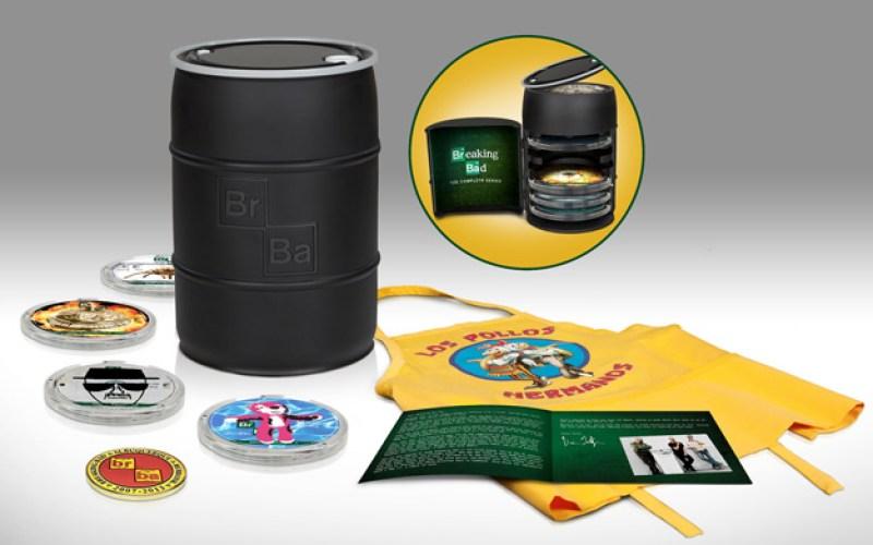 Breaking Bad: The Complete Series Barrel Unboxing