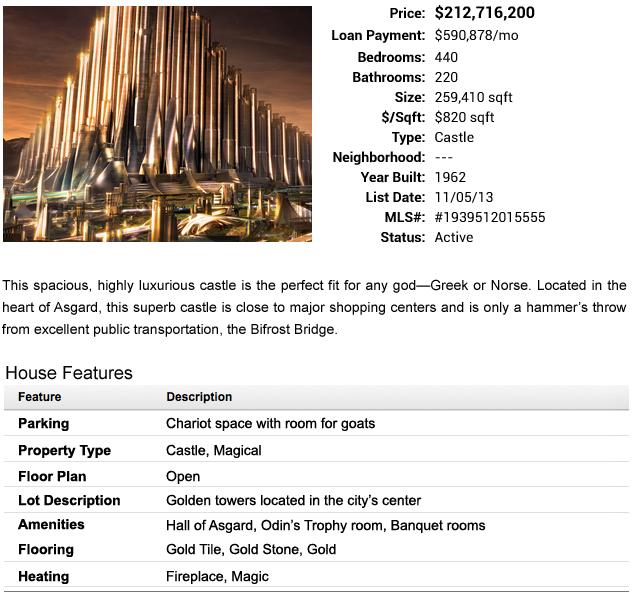 Thor's Castle