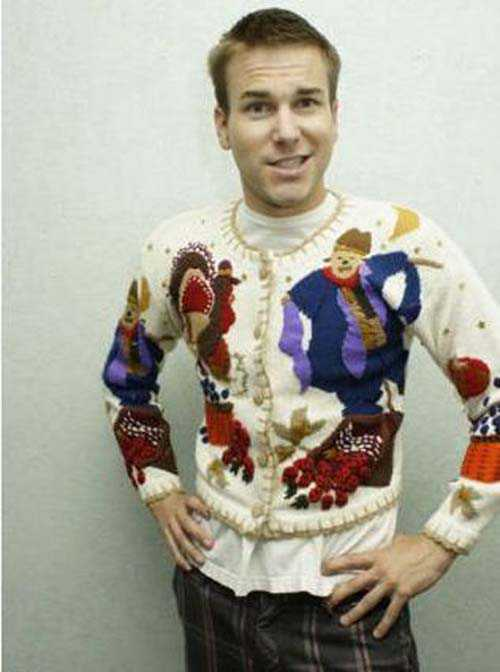 Hideous Thanksgiving Sweaters