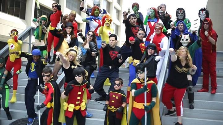 Epic DC Comics Cosplay Video