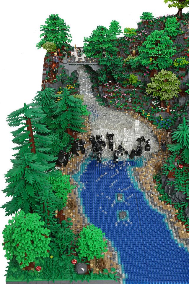 200,000-Piece LEGO Rivendell