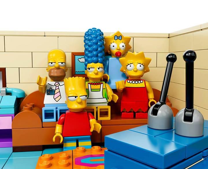 Simpsons Lego Set