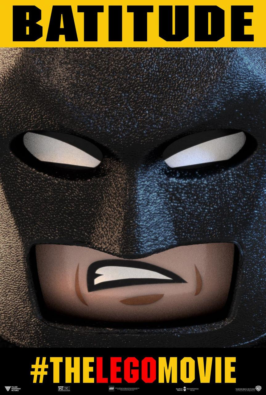 Batman Character Poster for THE LEGO MOVIE