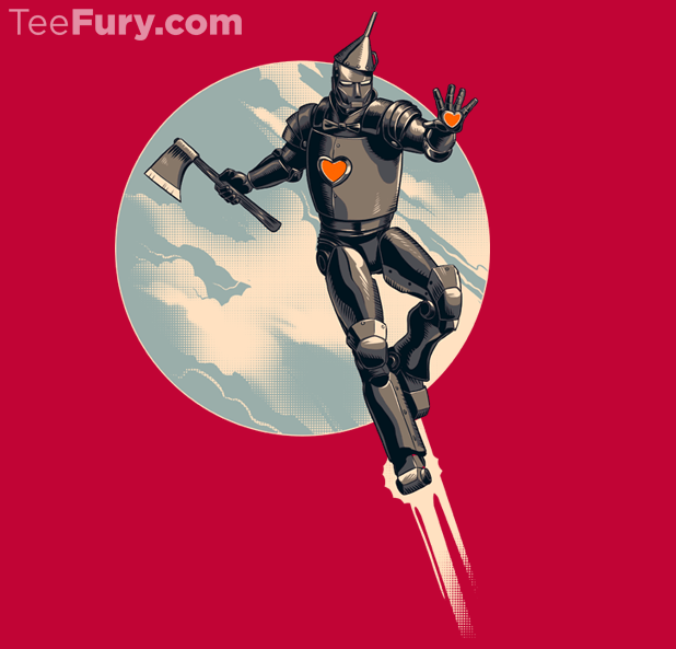 Iron Man and Tin Man Mashup Art