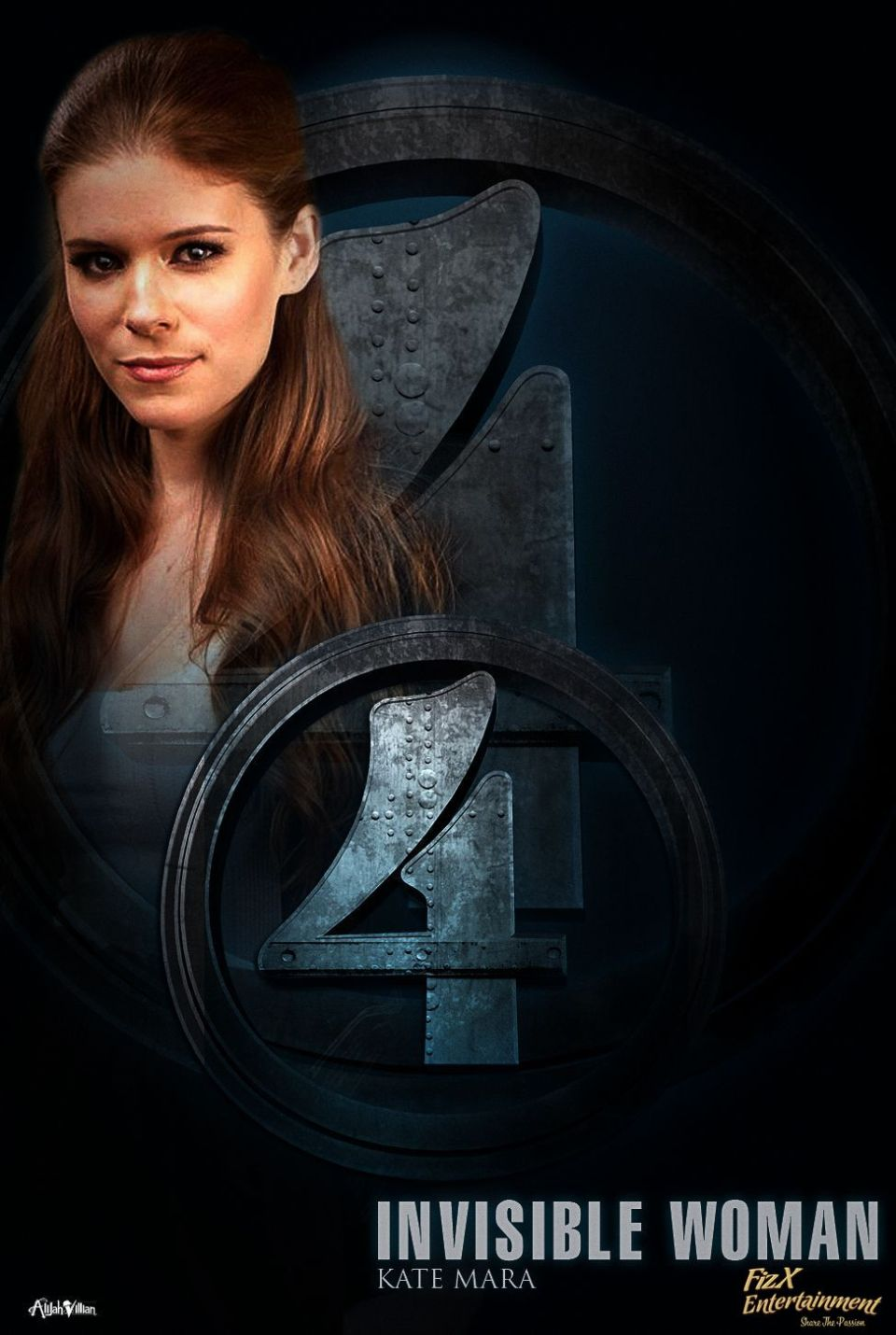 Fantastic Four Reboot Cast Posters Imagined