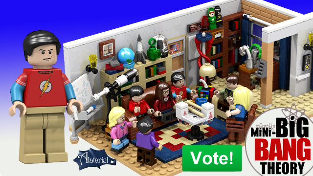 LEGO Big Bang Theory Cast And Apartment Build