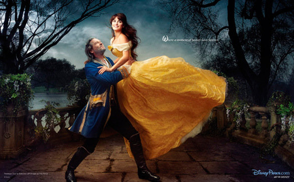 A-List Celebrities Depicting Scenes From Disney Movies
