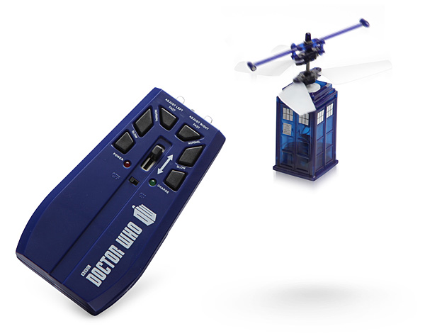 Become The Doctor With This Remote Control Mini Flying TARDIS