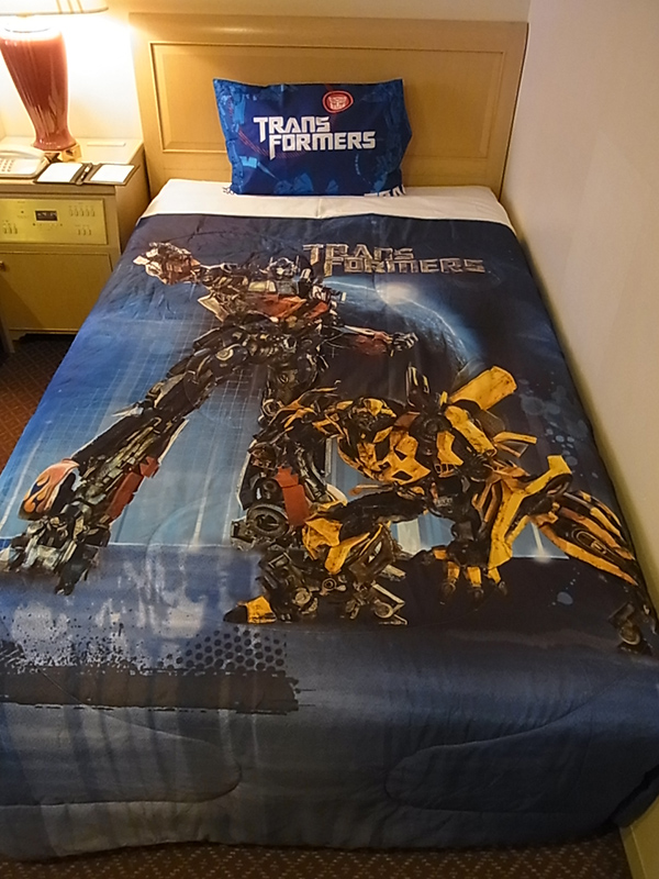Take A Look Inside A Special Transformers-Themed Hotel Room