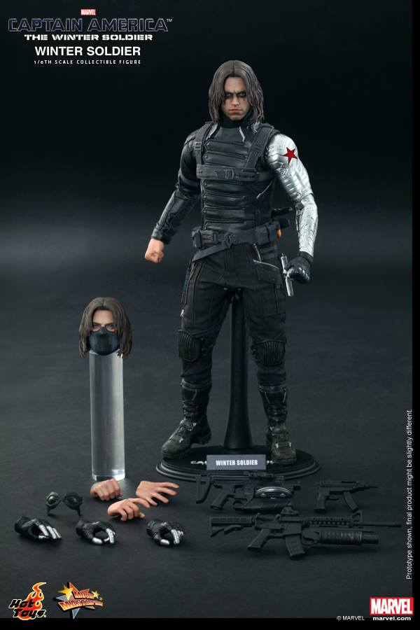 Hot Toys' Winter Soldier Collectible Figure