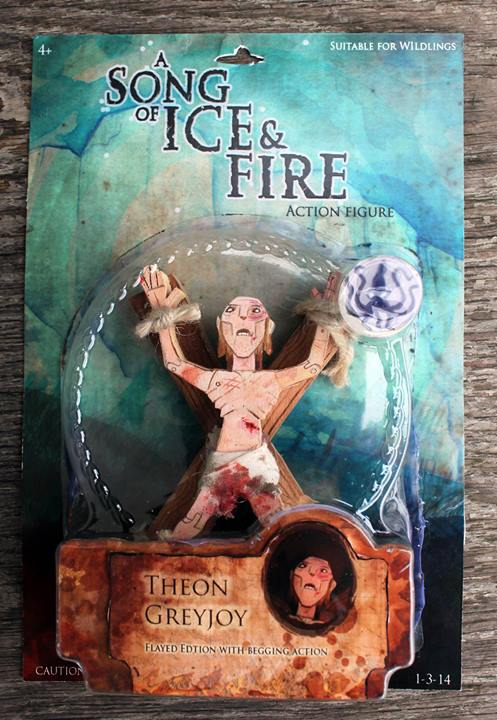 Wooden Game Of Thrones Action Figures Are Full Of Spoilers