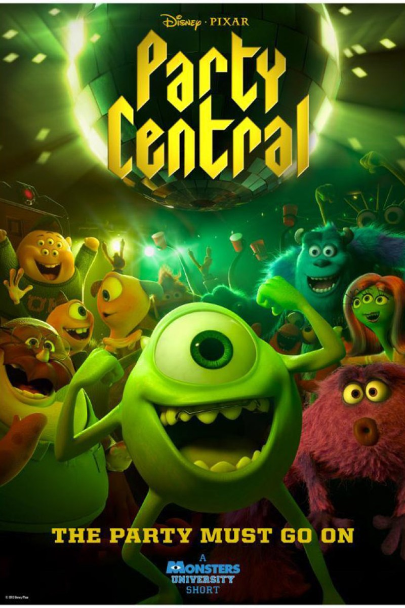 Monsters University Short Film Party Central Poster