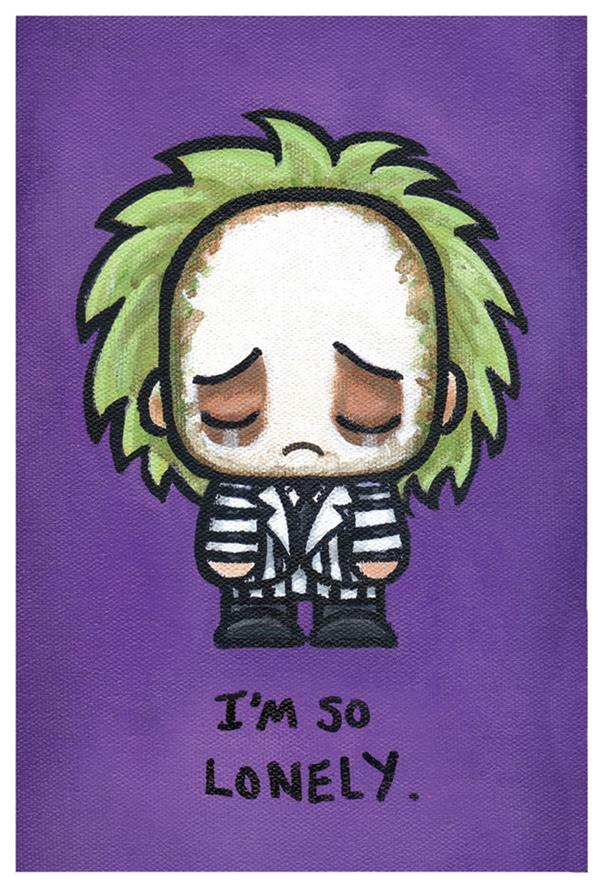 Emo Paintings Of Pop Culture Characters Just Need A Good Hug