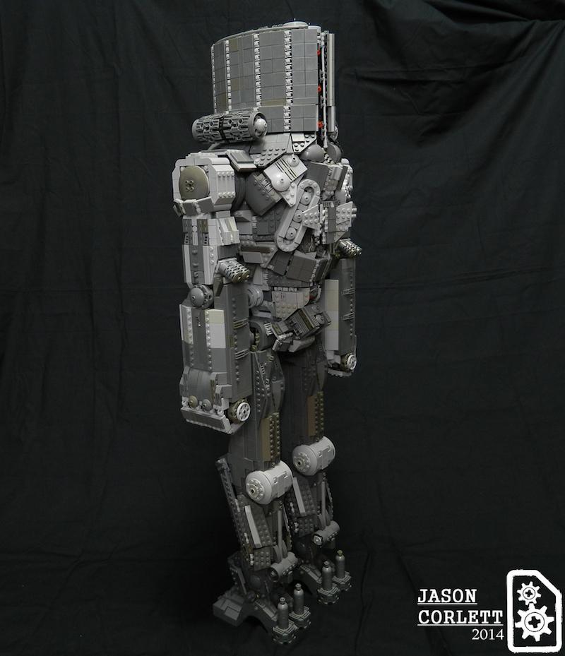 3-Foot-Tall LEGO PACIFIC RIM Jaeger