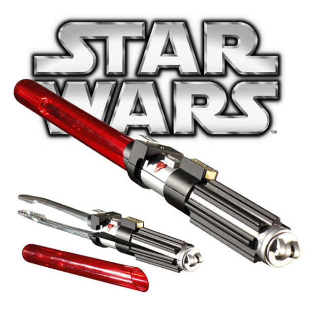 Real Products: Darth Vader Lightsaber Barbeque Tongs