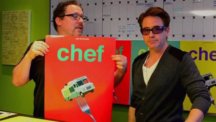 Jon Favreau & Robert Downey Jr. Unveil Posters for CHEF