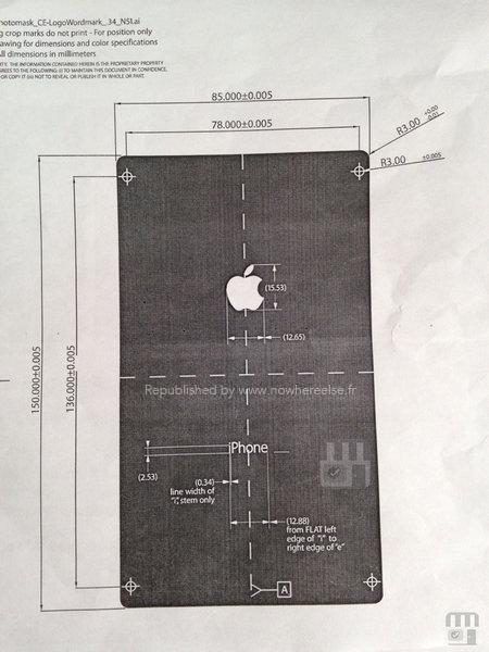 iPhone 6 New Size Photo Leaked