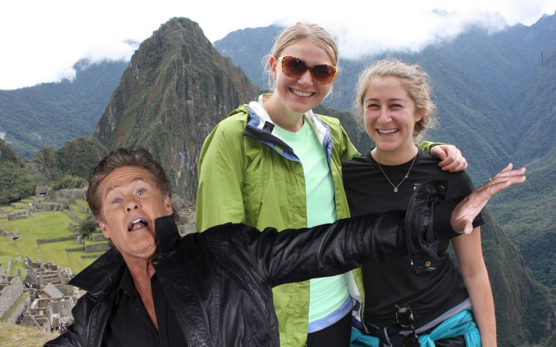 Google Auto Awesome Photobombs with David Hasselhoff