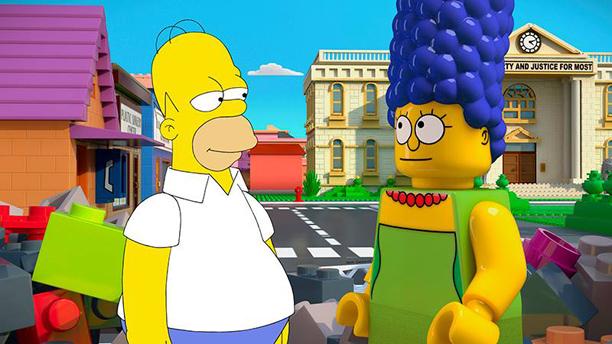 Simpsons Lego Episode