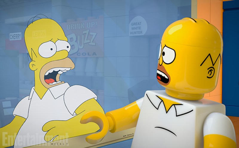 Simpsons Lego Episode